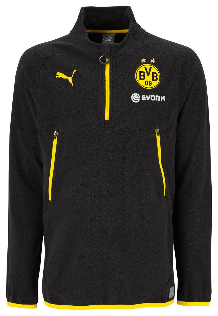 Puma BVB  Training Fleece Jacke Herren Sportjacke sweatshirt zipper