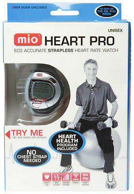 Mio Heart Pro Ecg Accurate Strapless Heart Rate Watch Monitor Unisex