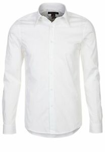 Michael-Kors-essential-luxury-cotton-Casual-Slim-Fit-Shirt-White