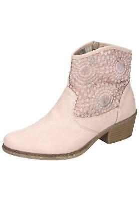 Rieker Damenschuhe Stiefeletten Sommer Boots rosa 75581-31 36-42 Neu1