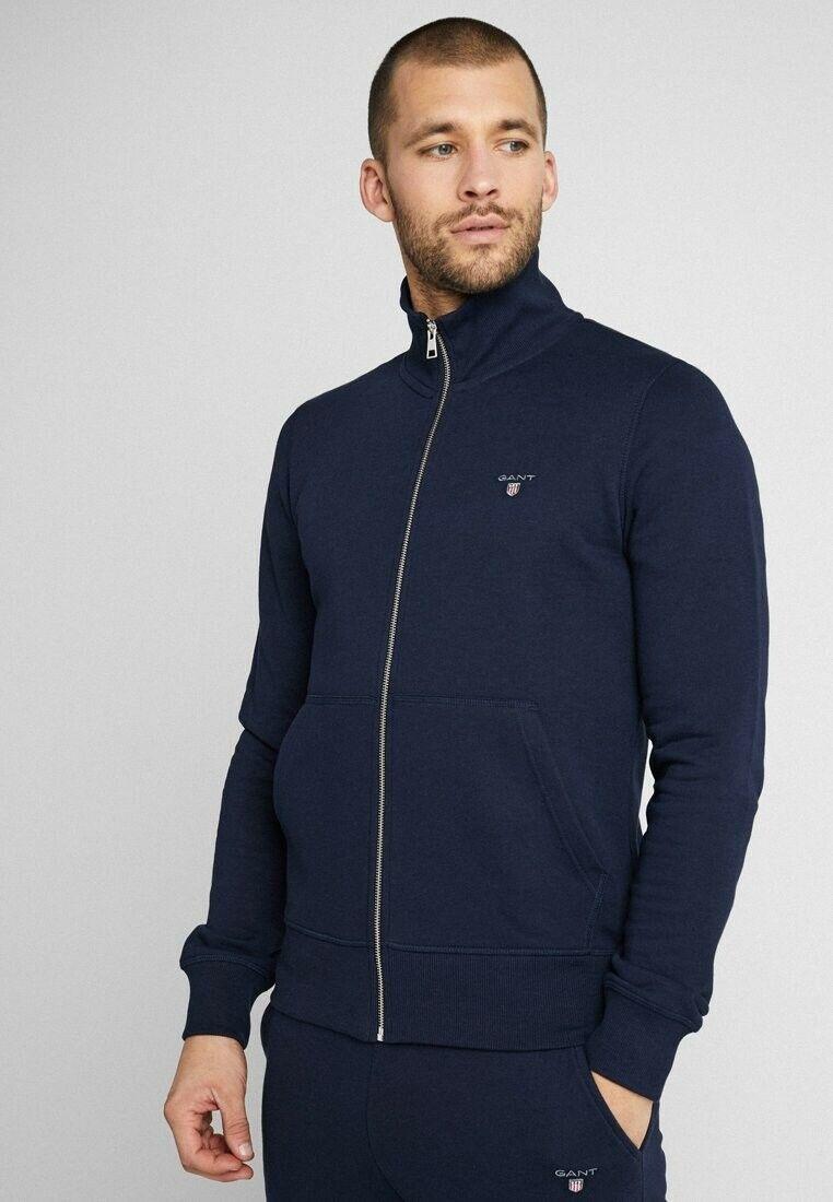 GANT The Original Full Zip Cardigan Strickjacke Pullover UVP 129,90€ Gr. M NEU