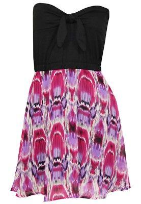 Damen Kleid Outfit (Sublevel Damen Kleid Trägerlose Kleider | Party Freizeit Arbeit Sommer Outfit)