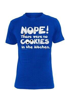 t Men - NOPE - Blue (Mens Sesame Street Shirt)