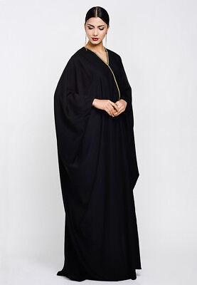 Abaya Muslim Women Black Abaya Kaftan Jilbab Islamic Maxi Dress
