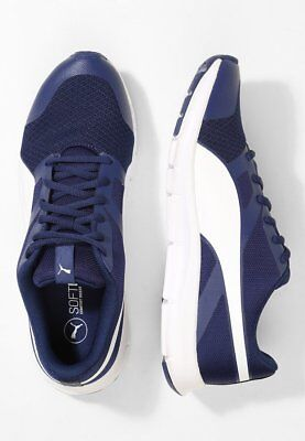 PUMA FLEXRACER COMPETITION RUNNING SHOES ELECTRIC BLUE SIZE 13 100% GENUINE WOW!