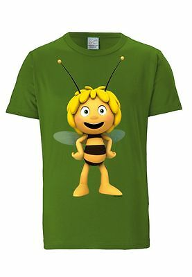 TV - Cartoon - Biene Maja - Held - Maja 3D - T-Shirt - hellgrün - LOGOSHIRT ()
