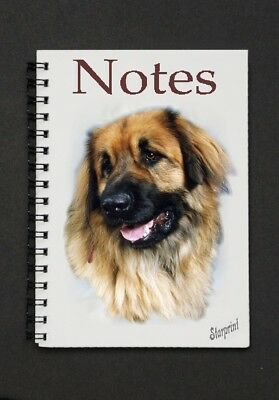 Leonberger Dog Notebook/Notepad with a small image on every page - by Starprint