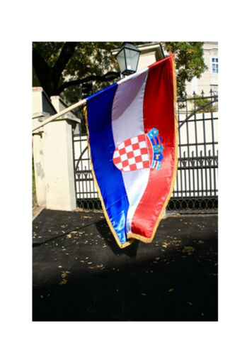 Croatia Flag 200x100cm - Official Croatian Flag - Trobojnica Hrvatska  Brand New