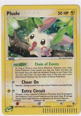 Plusle 8/97 Holo Pokemon EX Dragon Near Mint NM