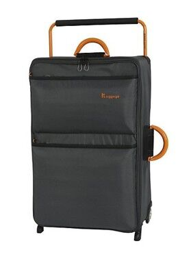 iT Luggage Worlds Lightest 2 Wheel Trolley Suitcase with TSA combination Lock