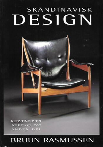 Bruun Rasmussen Scandinavian  Design Deco Art Works Auction Catalog April 2002