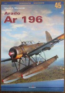 German Floatplane Arado Ar 196 - Kagero Monograph ENGLISH - <span itemprop=availableAtOrFrom>Reda, Polska</span> - Zwroty są przyjmowane - Reda, Polska
