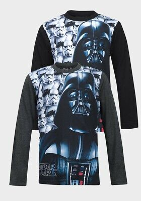 Boys Star wars long sleeve T shirt various sizes, NWT