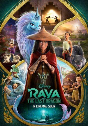 Raya The Last Dragon - original DS movie poster - 27x40  INTL Style B - 2021