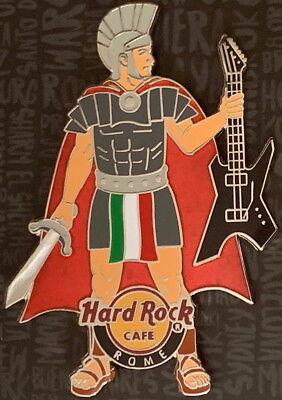 Hard Rock Cafe Rome 2019 Römischer Centurion Core City auf Karte Gladiator Neu ()