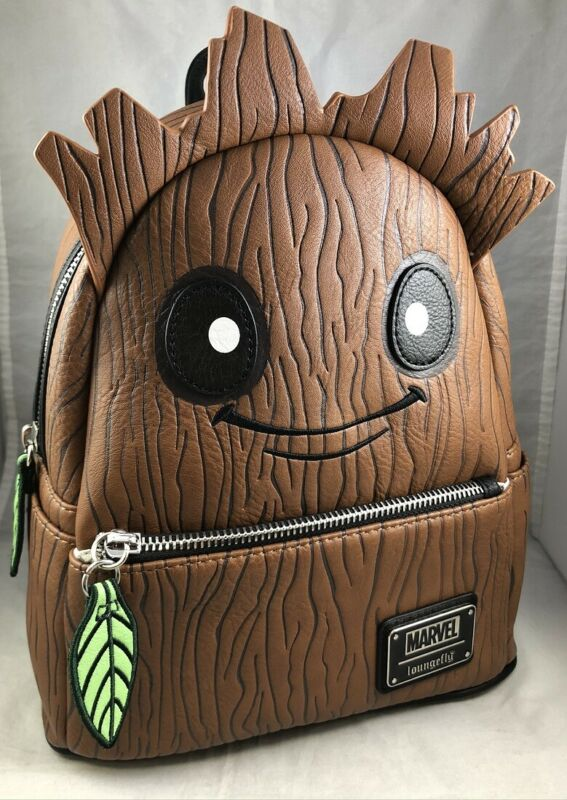 Disney Parks Loungefly Marvel Baby Groot Guardians of Galaxy Mini Backpack Bag