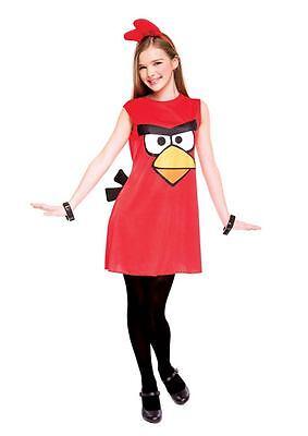 ANGRY BIRDS RED BIRD TWEEN GIRLS HALLOWEEN COSTUME Size 14/16 PMG NEW
