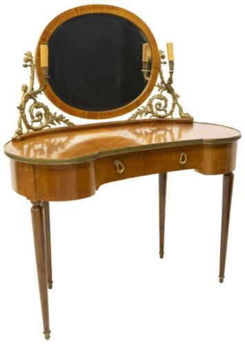Table, Dressing, Continental, Louis XVI Style/ Vanity Mirror, Vintage/Antique !!