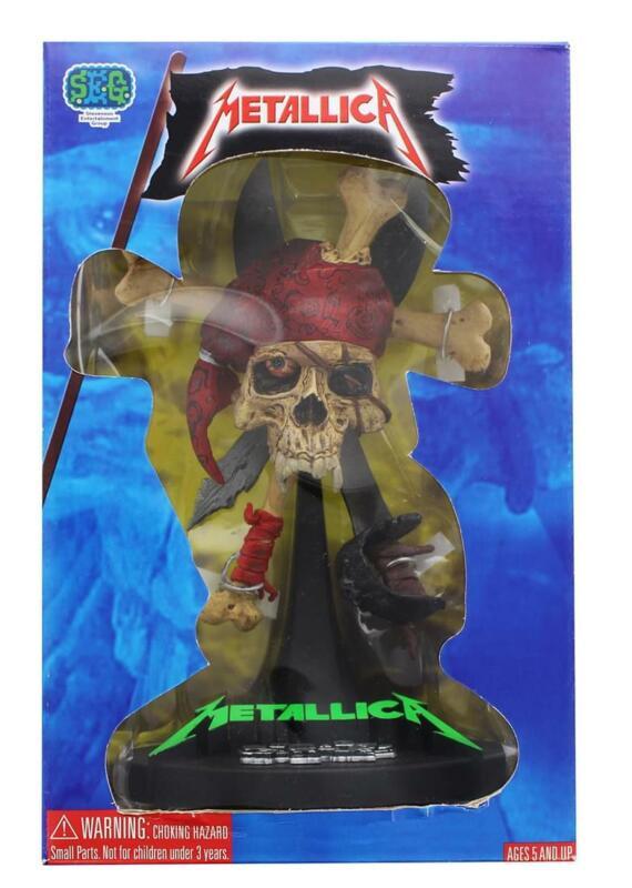 "Metallica 7"" Damaged Pirate Statue"