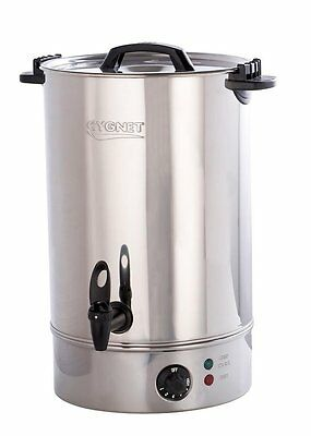 Burco Cygnet Commercial 20L Catering Hot Water Boiler Tea Urn - Stainless Steel