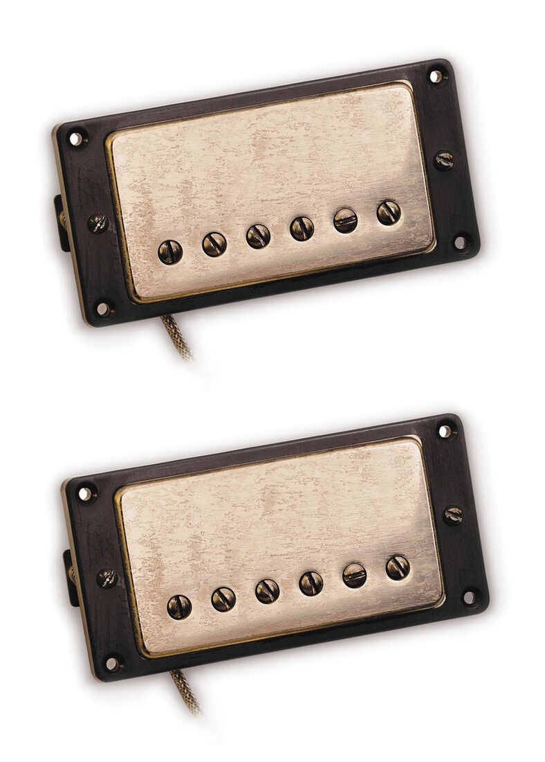 NEW Seymour Duncan Antiquity Humbucker PICKUP SET Nickel