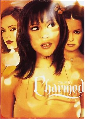 Advertising: WB Television Series Charmed. 3 Sister Witches, Actresses. TV.
