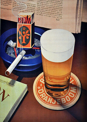 Reading, cigarette & beer display Decor Poster. Home Graphic Art Design. 4067