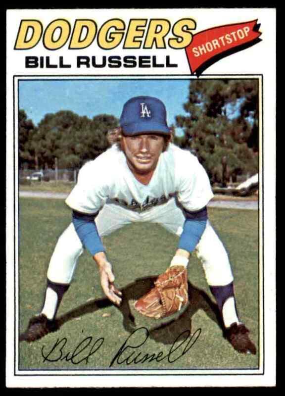 1977 TOPPS BILL RUSSELL #322 NM-MT+ WELL CENTERED HI-GRADE SET BREAK BLR16W1