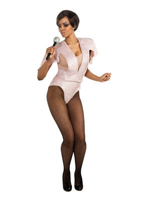Adult Rihanna Pink Concert Costume by Rubies 880360 - Size Medium 6-10