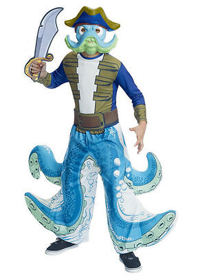 Skylanders Wash Buckler Costume for Boys size 4-6 & 8-10 New by Rubies 880255