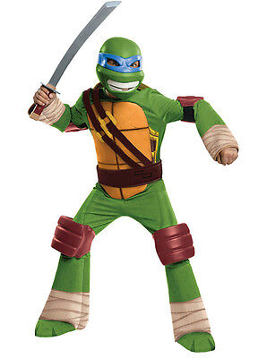 Teenage Mutant Ninja Turtles Leonardo Halloween Costume Large 12-14 TMNT
