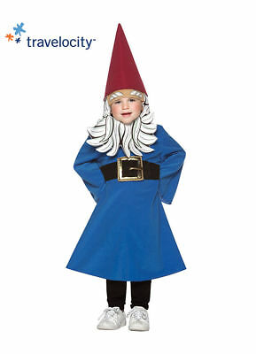 NEW Baby Toddler Travelocity Roaming Gnome Halloween Costume 12-24 months - Gnome Toddler Costume