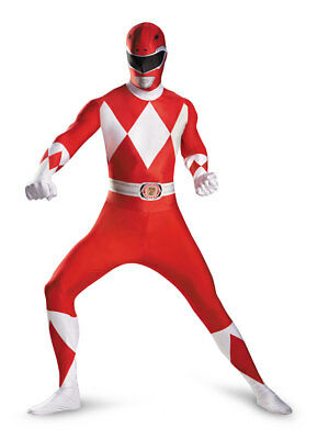 Mighty Morphin Power Rangers - Classic Adult Morphsuit - Disguise](Power Ranger Morphsuits)