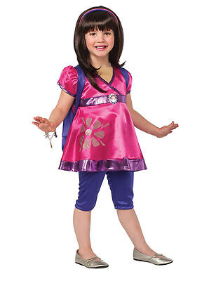 Dora & Friends Deluxe Costume for Toddler size 2-4 & 4-6 by Rubies 610059 - Dora Costume For Toddler