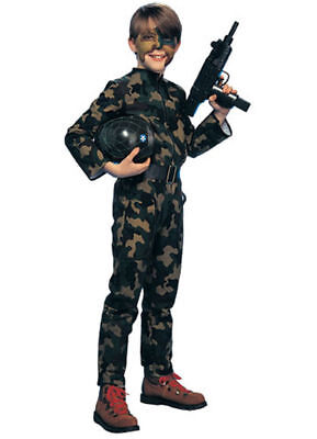 SALE Rubies GI Soldier Boy's Halloween Costume  Medium Ages  5-7 (closeout)