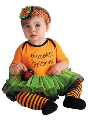 Baby Girl Halloween Costumes 6-12 Months (New Baby's 1st Halloween Pumpkin Princess Infant Costume 6-12)