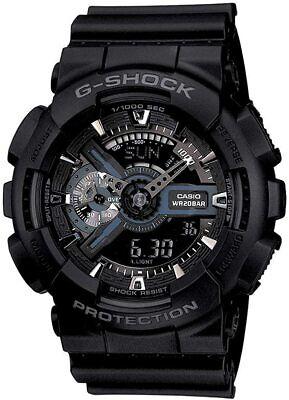 Casio G-Shock X-Large Display Stealth Black Watch GA110-1B / GA-110-1B