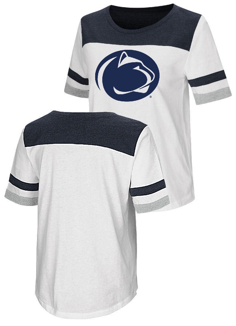 Penn State Nittany Lions Navy Under Armour Poly HeatGear Long Sleeve Shirt
