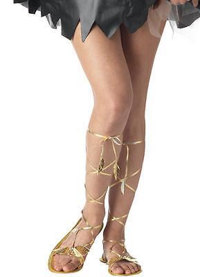 Roman Greek Goddess Sandals Costume Accessory -