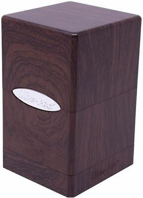 FOREST OAK SATIN TOWER DECK BOX