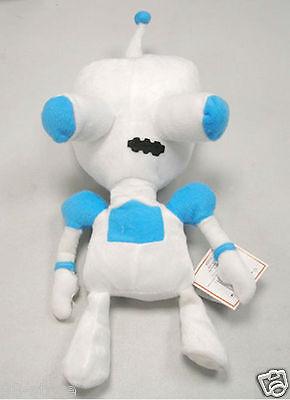 Lot of 2pcs Nickelodeon Invader Zim Gir as Robot Plush Doll NEW