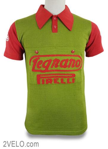 LEGNANO PIRELLI vintage wool jersey, new, never worn L