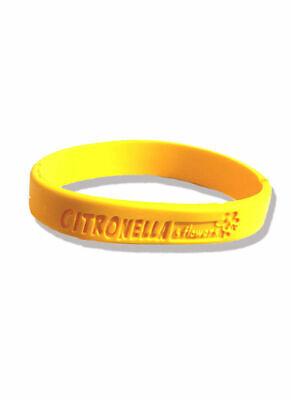 bracciale braccialetto profumato citronella antizanzare contro zanzare