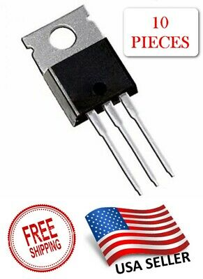 10pcs Tip31c To-220 Tip31 Power Transistor Voltage Regulator