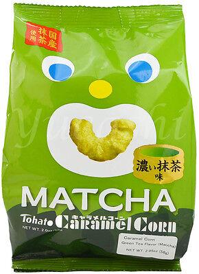 TOHATO Caramel Corn Crisp (Matcha, Almond, Chocolate Banana, Original) Almond Caramel Corn