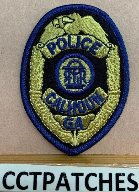 CALHOUN, GEORGIA POLICE SHOULDER PATCH GA