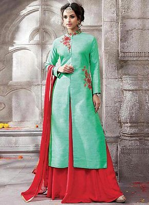 Lehenga Choli Long Designer Bollywood Designer Indian New Net Women Work Wedding
