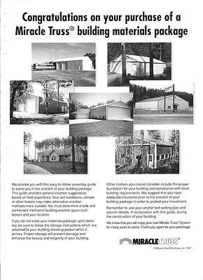 Steel Building Clear Span Garage Shop Auto Business Workshop Storage Farm Ranch