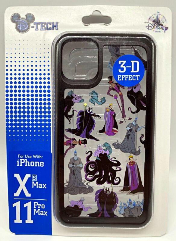 Disney DTech iPhone XS Max 11 Pro Max Phone Case 3D Villains Ursula Maleficent