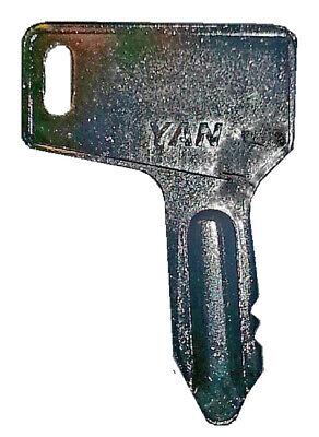Yanmar Takeuchi Mini Excavator Heavy Equipment Ignition Key - Better Quality
